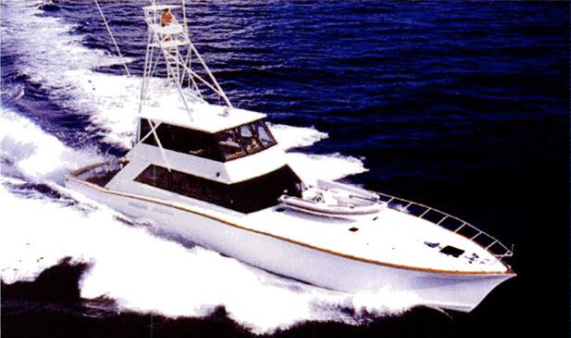 """1992 Sport Fishing Vessel """"One More Time""""  IRS Seizure To Recoup Funds From A Ponzi Scheme"""