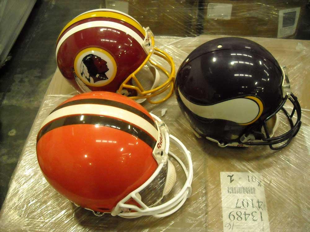 Riddell-NFL-Helmets
