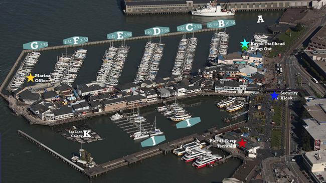 Online Auction Boat Slip, Pier 39 Marina, Slip F-14 San Francisco, CA – Coming Soon!