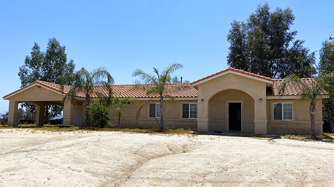 Online Auction: Single Family Home 475 Arapaho Rd, Perris, CA