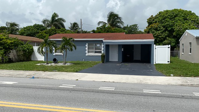 Online Auction: Single Family Home 3331 Lake Ave, West Palm Beach, FL